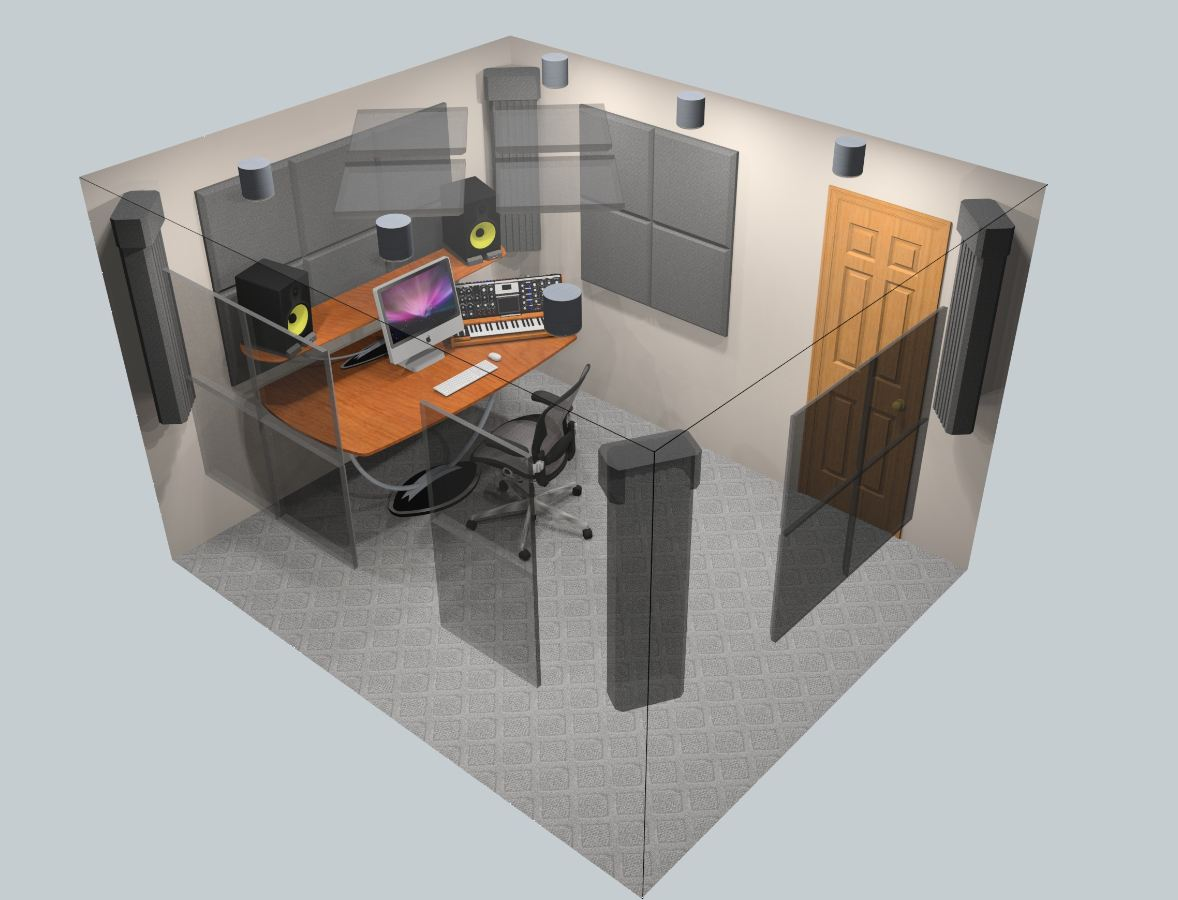 How Big Is 400 Square Feet Auralex Acoustics Sonoflat Sfs184 Burgundy