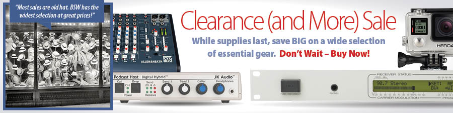 Clearance (and More) Sale! While supplies last, save BIG on a wide selection of essential gear.  Don't Wait – Buy Now!