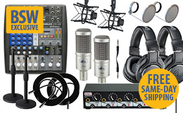 BSW Internet Radio & Podcast Going Pro Kit Dual - PR40