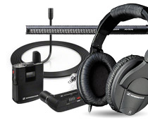 picture of Sennheiser products
