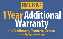 One-Year Additional Warranty