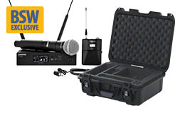 Free Gator Case w/purchase of qualifying Shure QLX-D System