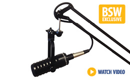 MXL BCD-1-PKG Broadcast Dynamic Microphone with Boom