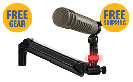 Free MIC-LITE with purchase of any ProBoom Ultima ULP mic boom or mic boom system