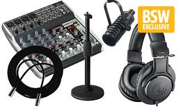 Radionomy's BSW Internet Radio Going Pro Kit 1