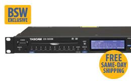 Tascam CD-500B B Stock CD Player