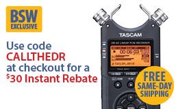 Tascam DR-40 Handheld 4 Track Recorder