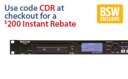 Tascam SS-CDR200 Recorder