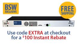Tieline Bridge-IT Extra with FREE Report-It Enterprise 10 Pack