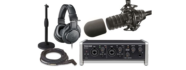 Audio Technica BP40 Podcaster Package