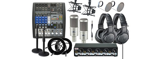 BSW Internet Radio & Podcast Going Pro Kit Dual -