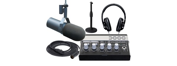 Shure SM7B Podcaster Package