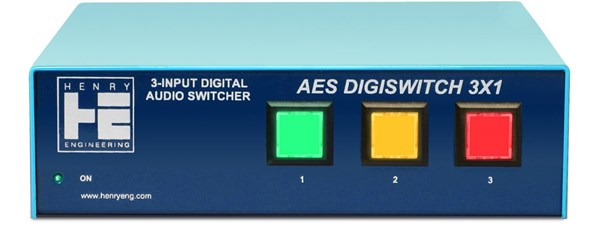 Henry Engineering AES DIGISWITCH-3X1