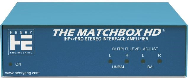 Henry Engineering - The Matchbox HD Pro Stereo Interface Amplifier