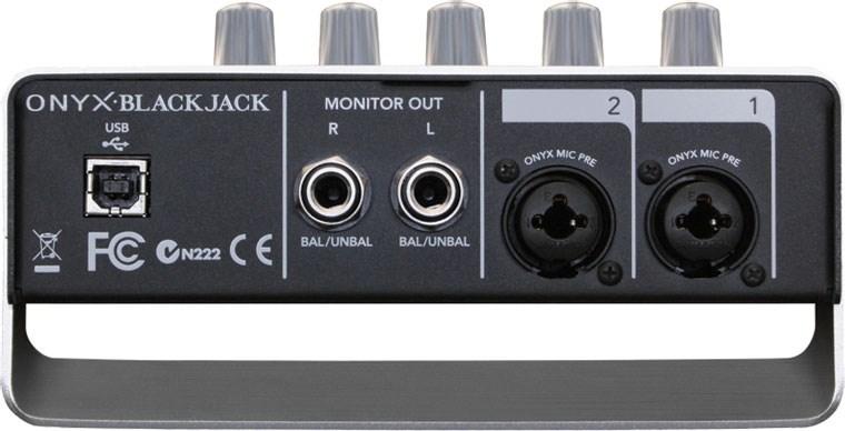 Mackie onyx blackjack 2x2 usb recording interface review