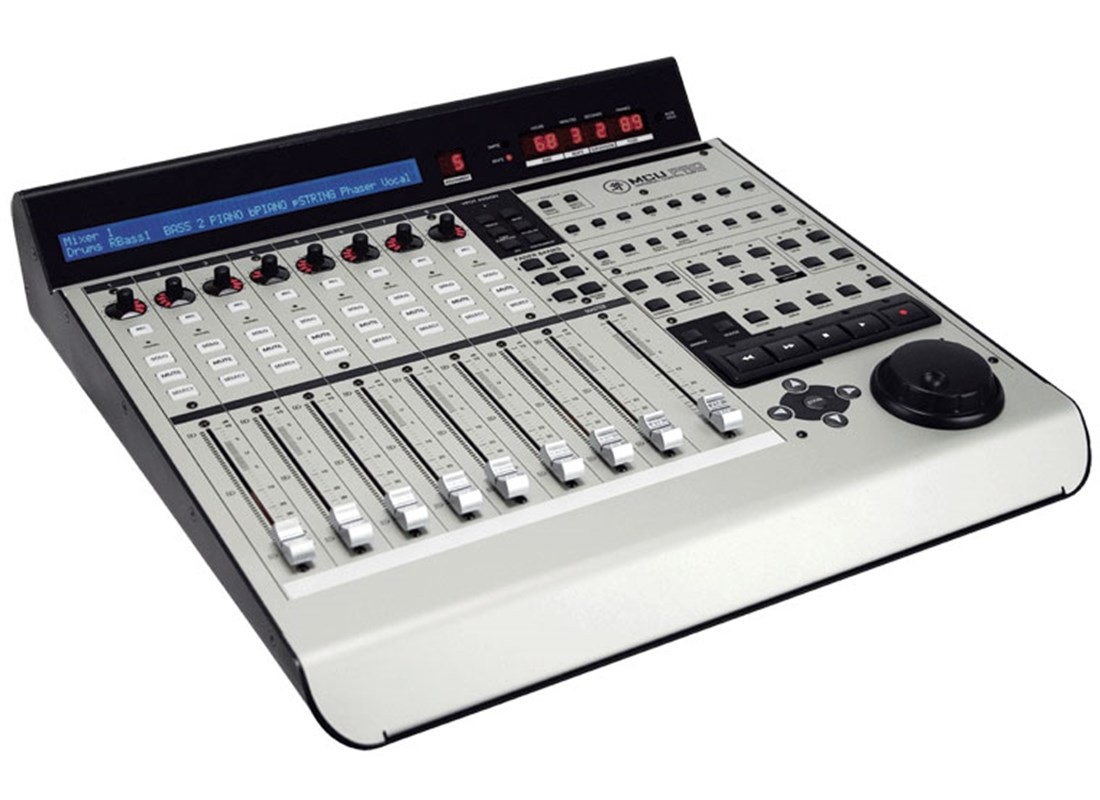 Mackie mcu pro control surface for Daw control surface motorized faders