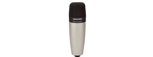samson c01 studio condenser microphone manual