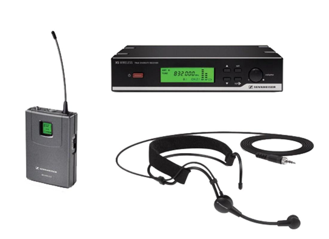Bezdrátový mikrofon hlavový Sennheiser XSw 52B