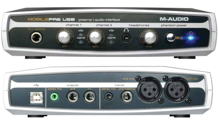 m audio mobilepre usb audio interface drivers