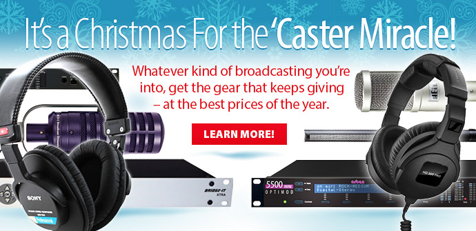 Christmas For the 'Caster