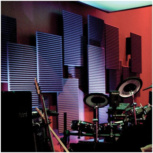 Auralex Acoustics StudioFoam2 Purple Figure 3
