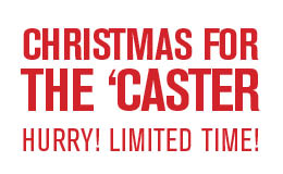 Christmas for the 'Caster Sale