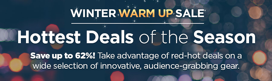 Winter Warm Up Sale! Hottest Deals of the Season
