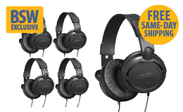 BSW Headphone 5-Pack