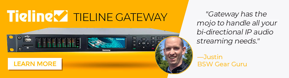 Gateway has the mojo to handle all your bi-directional IP audio streaming needs.