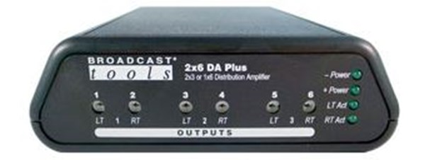 Broadcast Tools 2X6DA Plus