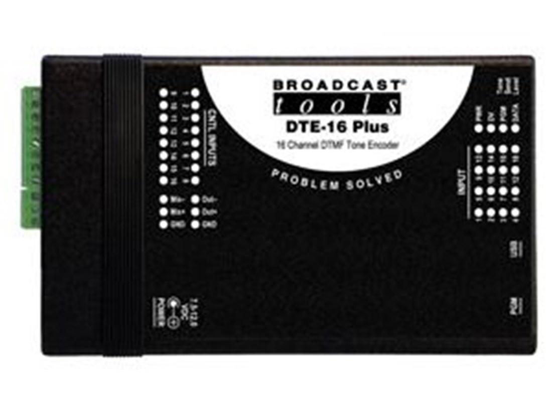 Broadcast Tools DTE-16 PLUS BSTOCK