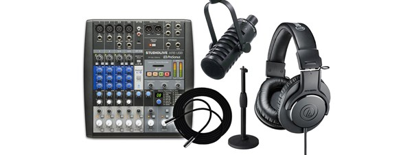 BSW Internet Radio Going Pro Kit with AR8 Mixer