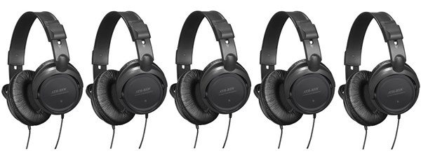 BSW ATH-BSW Headphone 5 Pack