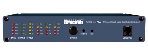 Broadcast Tools WVRC-4 Plus