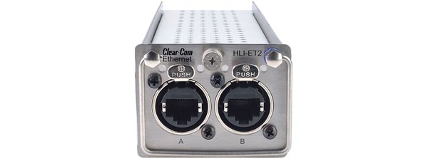 Clear-Com Dual Channel Ethernet Interface Module