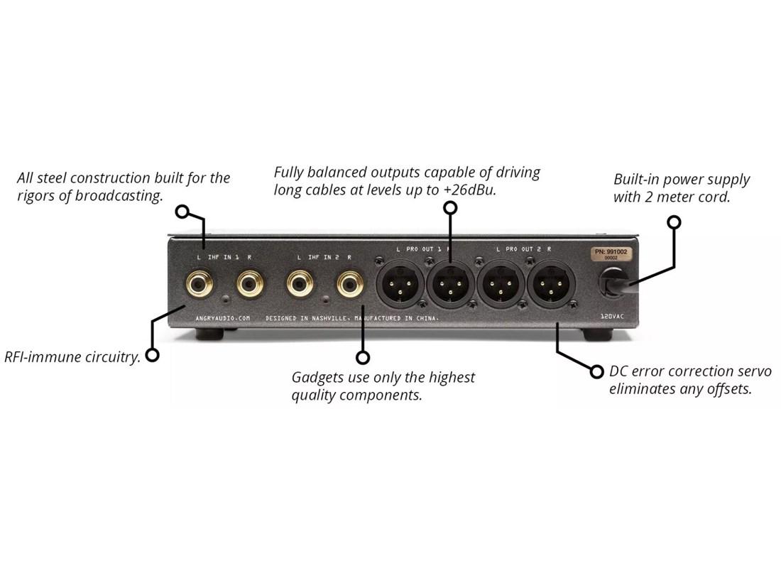 Angry Audio Dual Stereo Balancing Gadget