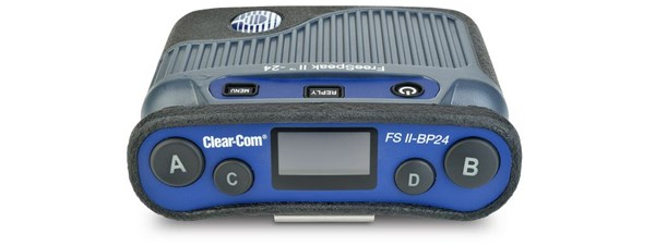 Clear-Com FreeSpeak FSII-BP24-X5 Beltpack