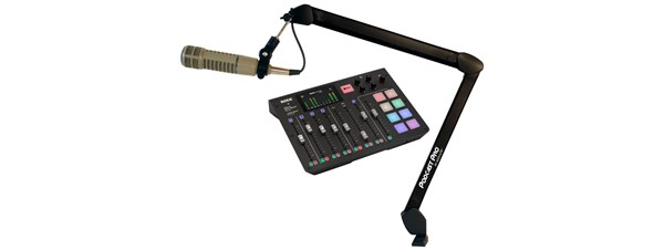 Rode Microphones Rodecaster Pro with FREE Boom Arm