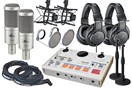 Tascam US-42 Dual Podcast Bundle - PR40