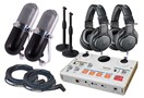 Tascam US-42 Dual Podcast Bundle - PR77
