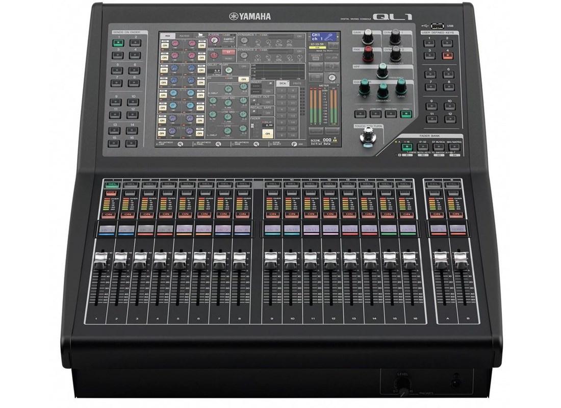 Yamaha ql1 for Yamaha sound console