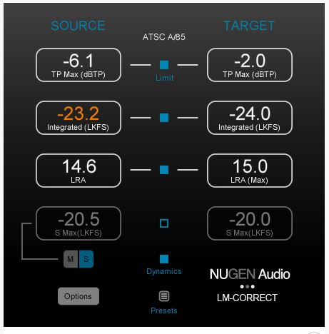 Nugen Audio LM-CORRECT-2